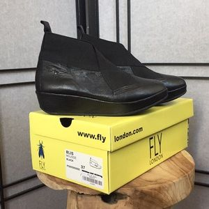 Fly London leather bootie- sample sale!